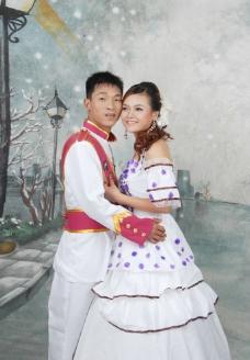 户内婚纱摄影图片