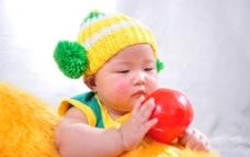 宝宝艺术照图片
