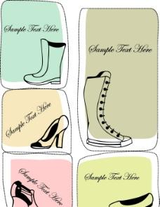 卡通女士鞋子图片