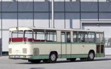 奔驰老式大客车图片