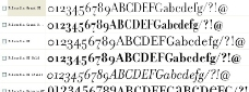 Filosofia系列字体