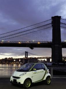 奔驰SMART电动车图片