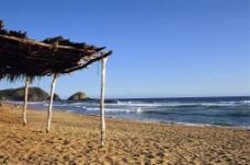 海边沙滩图片