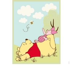 维尼小熊图片