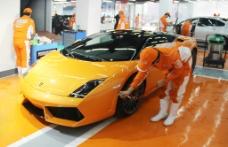 兰博基尼 洗车 汽车服务图片