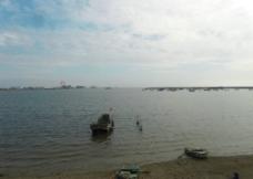 宁静的岸边图片