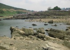 大藤峡风景 弩滩图片