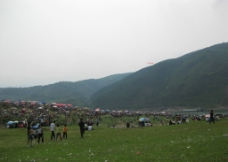 广西大藤峡庙会图片