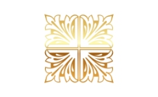 欧式金色花纹素材图片