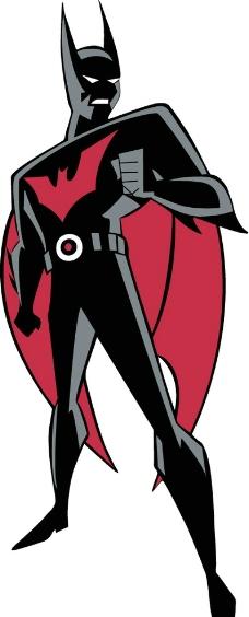 卡通装饰蝙蝠侠图片