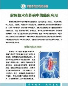 医院骨科展板图片
