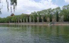 北京中山公园内湖图片