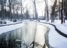 冰川雪景图片