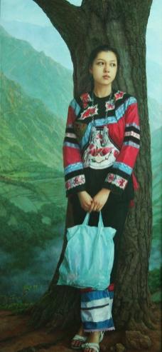 大山的女儿图片