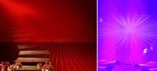红紫色214情人3.8妇女节户外广告素材