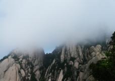 云中黄山图片