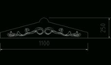 欧式构造 长方线图片