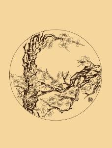 折枝梅花图片
