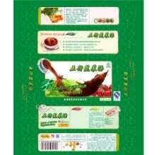 包装五行蔬菜汤图片