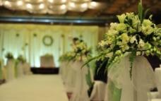 婚礼鲜花图片