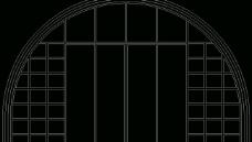 欧式构造 拱窗套图片