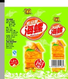 海螺泡菜味袋图片