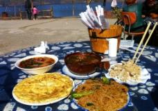 泸沽湖美食图片