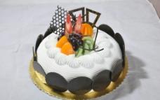 欧式生日蛋糕模型图片