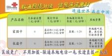 中国联通板报CDR图片