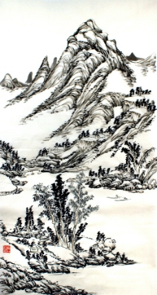 春江泛舟图片