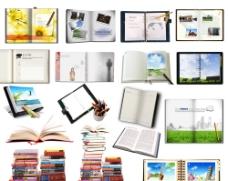 各种书本笔素材图片