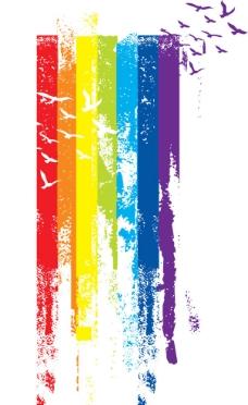 彩虹条纹图片