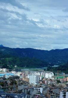 小城之景色图片