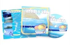 旅游光盘包装图片