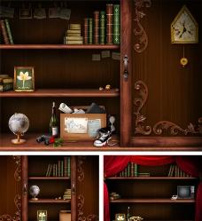 杂物柜图片