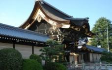 临街寺庙图片