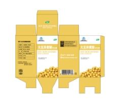 大豆异黄酮胶囊小盒图片