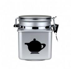 茶叶罐金属容器图片