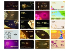 VIP会员卡(部分位图组成)图片