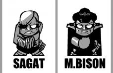 卡通超级街霸图片