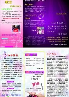 紫雨 折页图片