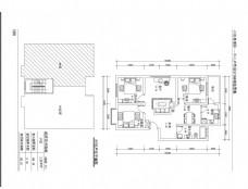 三室两厅平面图