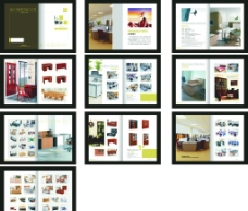 办公家居画册图片