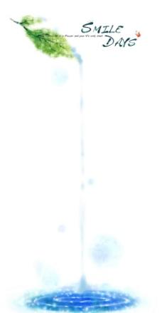 写意手绘花卉底纹图片