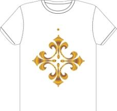 花纹衣服标志模版图片