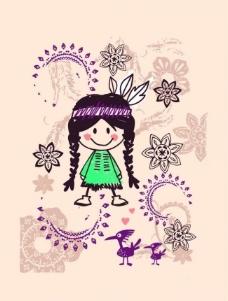服装设计 印花 绣花 图案图片