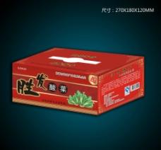 酸菜包装箱图片