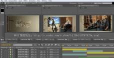 AE3D动感时尚电子相册视频工程带音乐