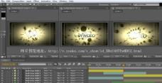AE3D高清动感文字标致工程带音乐