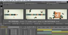 AE3D动感时尚娱乐片头工程带音乐